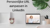 Persoonlijke URL aanpassen in LinkedIn