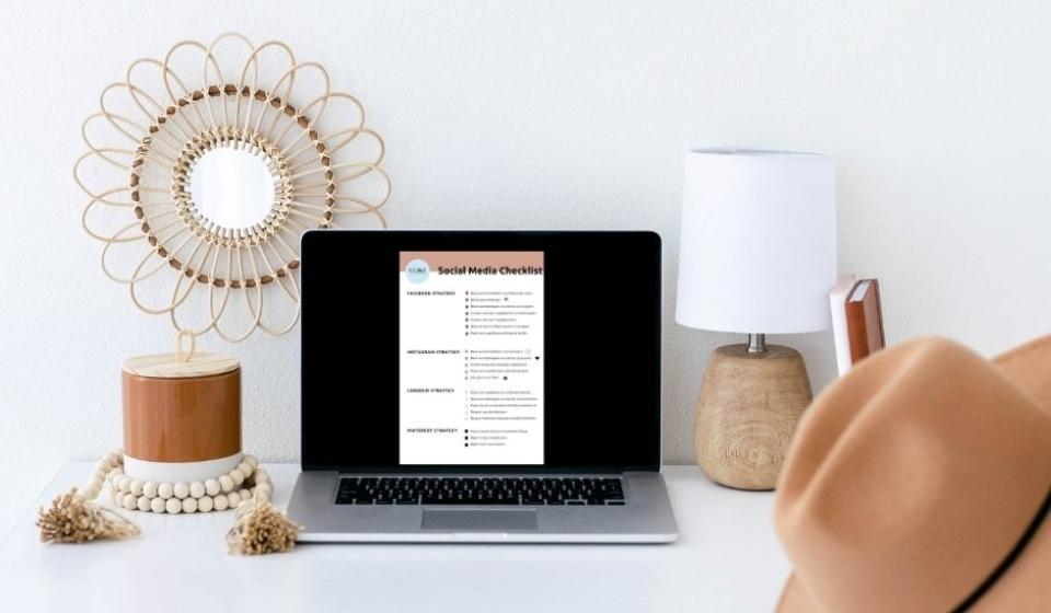 blog social media checklist